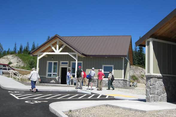 Cascade Peaks Interpretive Center