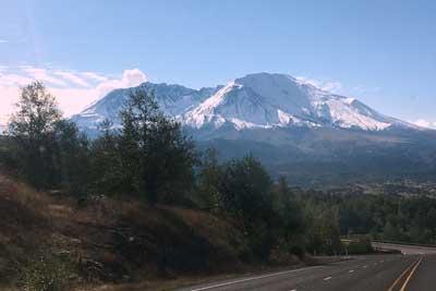 Mt St Helens - copyright Brayden