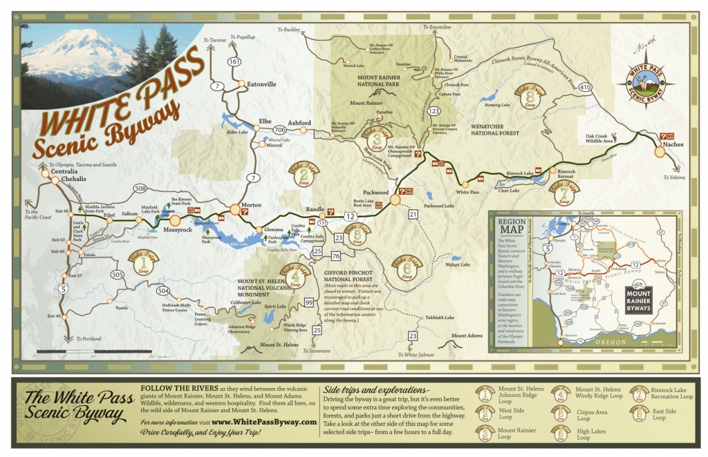 White Pass Byway Map