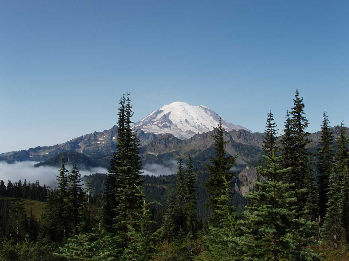 Road Trip - East Side Loop - Mount Rainier