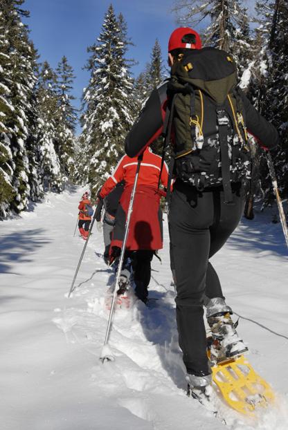 Snowshoeing in Washington Sate