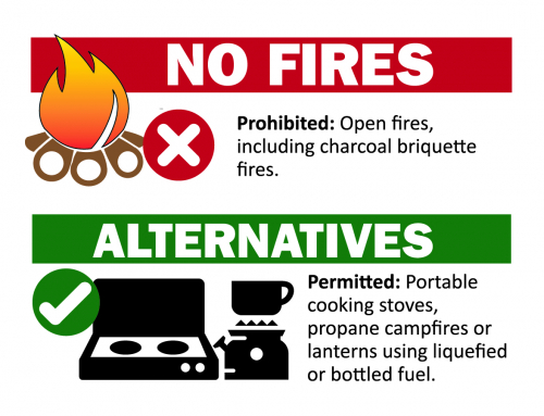 Campfires Prohibited on Local National Forest Lands